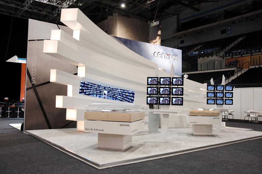 Exhibition Stand Futuristic : How to select the right exhibition display stand for your